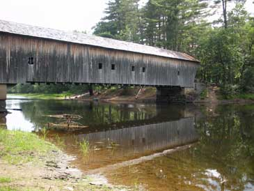 Covered Bridge, Maine