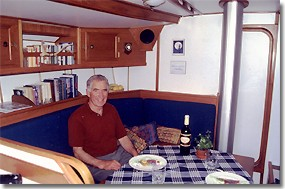 Inside cabin picture