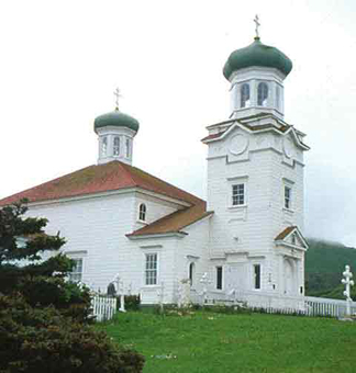 Russian Church Dutch Harbor