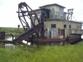 Gold Dredge Nome Alaska